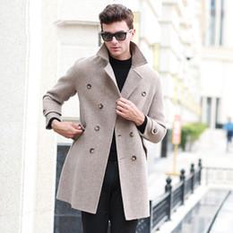 b9e18c0ff8fdc 2019 abrigo gris 2019 Gris Invierno Hombre Trajes de Boda Para Novios  Blazers Abrigos de Lana