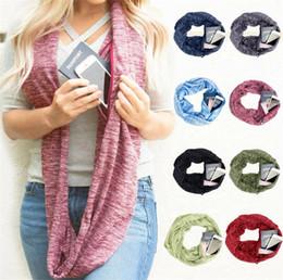 Mode Unisex gestrickt Business Ring Schal Lagerung coole Schals Kreis langen Schal Lady Wrap Schals dicken wärmeren Hals Schal häkeln Schals von Fabrikanten