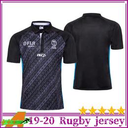 jersey de rugby ao atacado Desconto Novos 2019 2020 Fiji Edição Comemorativa 1920 Fiji Rugby Jersey Maillot de Foot franceses BOLN camisas de rugby-5XL