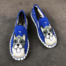 2020 scarpe da ballo scarpe fatte a mano Designer donna handmade pescatore scarpe di alta qualità delle donne espadrillas casual pescatore scarpa di tela slip on baller flats mocassini q-332 scarpe da ballo scarpe fatte a mano economici