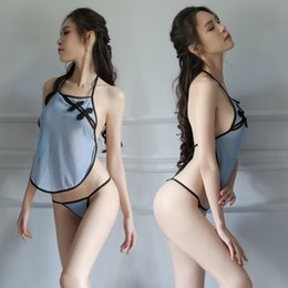 Argentina FCSH Servicio OEM Lencería sexy de estilo chino para mujeres maduras sexy / Conjunto de lencería sexy para mujeres árabes para mujeres hermosas Suministro