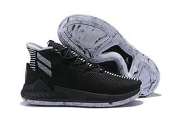 Nova D Rosa 9 Sapatos de Basquete dos homens de Ouro Branco Homem de Qualidade Superior Derrick Rose Sapatos de Corrida 9 s Sapatilhas Dos Esportes Sapatos de Grife Tamanho 40-46 de