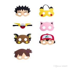 2019 niedliche lippenstift-designs Die Elfen Baby Masken Pikachu Maske für Kinder Superhelden Party Maske Halloween Weihnachten Maskerade Masken Partei begünstigt Geschenke