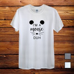 d95c7fd5e18b Halloween Costume I'm A Mouse Duh Gift T-Shirt cattt windbreaker Pug tshirt  Trump sweat sporter t-shirt fan pants t shirt