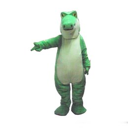 Costumi da coccodrillo online-Halloween Alligator Mascot Costume Top Quality Cartoon coccodrillo Anime personaggio tema Natale Carnevale Party Fancy Costumes