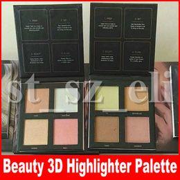 Новый макияж 3D светящиеся маркеры 4 цвета, текстовыделитель бронзаторами палитра порошок летнего солнцестояния Золотые пески и розовые пески выпуск шоу от