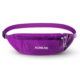 Gym Bags AONIJIE W920 Running Belt Sport Bag Water Resistant Waist Pack Outdoor Jogging Marathon Trail Racing Training Product от