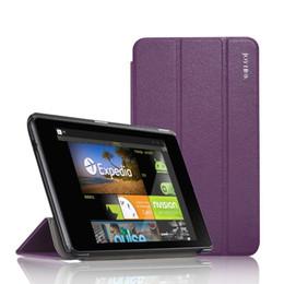tabletas de nexus Rebajas Joylink Ultra Slim Pu Funda de cuero plegable en folio para Google Nexus 7 2013 Flip Funda para tableta Soporte para Nexus 7 2nd, reposo / despertador automático T190710