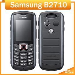 2019 дешевый мобильный телефон разблокировать Восстановленное Смартфоны Дешевые Samsung B2710 Оригинальный Разблокированный Мобильный Телефон 1300 мАч GPS 2.0 дюймов 2-МЕГАПИКСЕЛЬНАЯ Камера 3G дешево дешевый мобильный телефон разблокировать
