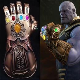 Canada Xmas Halloween Avengers 3 Infinity War Thanos Masque Infinity Gauntlet Avengers Infinity War Gants Casque Cosplay Thanos Masques Nouvel An Accessoires Offre