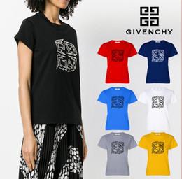 988adc1f85 2019 Italian Brands Luxurys La última camiseta de verano para mujer  Camiseta de mujer Ropa Tops Moda Marea Streetwear Camiseta Tamaño giv