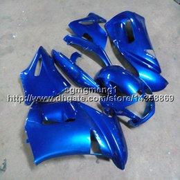 kawasaki er6f Promotion couleurs + cadeaux capot de moto bleu pour Kawasaki ER6F 2006 2007 2008 Carénage en plastique ABS