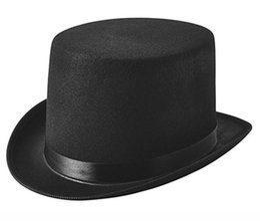 2019 magia magica Cappello nero cappello da cowboy cappello magico maglione nero cappello non mescolato moda all'aperto cappelli casuali magia magica economici
