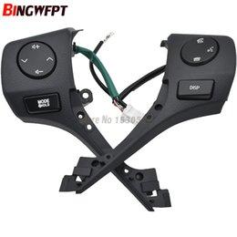 rav4 bluetooth Rabatt Auto Styling 84250-02560 Tasten Bluetooth Telefon Lenkrad Audio Control Button mit kabel Für TOYOTA Corolla RAV4 2014 2015