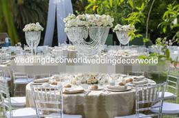 simples cenários de casamento Desconto Novo design de estilo simples personalizado acrílico flor de exibição, carrinho de flor mesa para o casamento pano de fundo suporte de mesa de casamento decor485