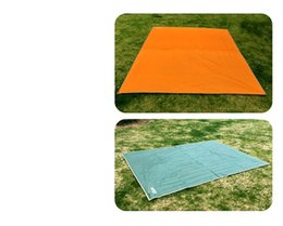 Tapis de camping en Ligne-Camping en plein air tapis de sol super léger étanche à l'humidité tapis de pique-nique Oxford solide durable Durable poncho d'urgence vente chaude 21 5gtD1