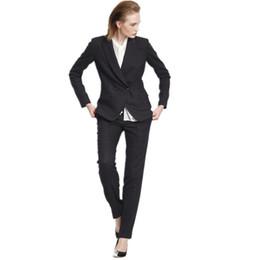 Tailleur pantalon femme costume professionnel costume OL costume d'affaires pour femme costume deux pièces à double boutonnage chic et chic ? partir de fabricateur