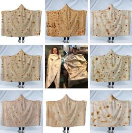 Nuova coperta messicana con cappuccio coperta di telo da mare, coperta con aria condizionata, coperta, stampa 3D, rotolo in microfibra di poliestere, pancake domestico Coperte 4807 da