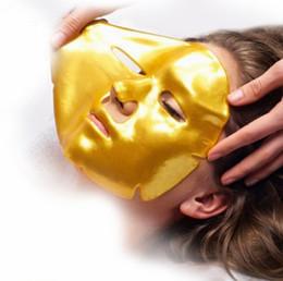 masque de soie hyaluronique Promotion Nouvelle Arrivée Or Bio Collagène Masque Facial Masque Visage Cristal Or Poudre Collagène Masque Facial Feuilles Hydratant Beauté Produits De Soins de La Peau