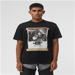Chalecos de manga corta de los hombres online-9ss BBR Crewneck INS hombres y mujeres de lujo camisa polo Camisetas de algodón de impresión de manga corta camiseta de verano chaleco transpirable Streetwear al aire libre