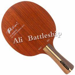 2019 raquetes de tênis de mesa dupla felicidade Palio Original Way 002 OFF + 40 + novo material bola Ténis de Mesa Lâmina para Raquete de Pingue-pongue