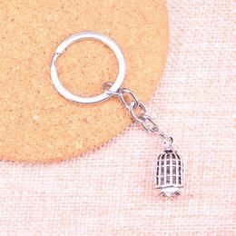 Porte-clés oiseau en métal en Ligne-Nouvelle Mode birdcage bird KeyChain Main En Métal Keychain Party Gift Bijoux 22 * 11mm