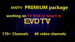 Premium-tv online-PREMIUM evdtv Paket von 170 Kanälen 4K-Kanäle VIDEO-Kanäle ARABIC VOD EPG auf Smart-TV-Android-TV-Box MAG250 mobilen Computer arbeiten
