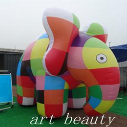 Sıcak satış renkli fil şişme fil hayvan modeli olay parti dekoru nereden cadılar bayramı için korkunç palyaçolar tedarikçiler