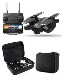 Altitudine gps online-Nuovo Drone GPS 1080P HD Fotocamera 5Ghz Seguimi WIFI FPV RC Quadcopter Pieghevole Selfie Live Video Altitude Hold Ritorno automatico RC Drone 1pcs DHL