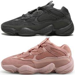 8d6d7d3f6 Hot New Kanye West 500 Desert Rat Blush 500s Salt Super Moon Yellow Utility  Black mens running shoes for men women sports sneakers designer