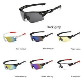 Radsportbrille UV400 Herren Damen Schutzbrille Fahrradbrille MTB Sport Sonnenbrille Trekking Laufen Joggen von Fabrikanten