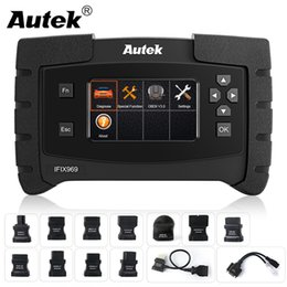 epb scanner Promo Codes - Autek IFIX969 OBDII Professional Automotive scanner Full System Airbag ABS SRS SAS EPB Oil Reset TPMS OBD OBD2 Diagnostic Tool