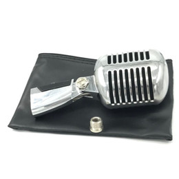 Argentina 55SH dinámico Vocal Retro con cable soporte de micrófono de escritorio Mic Holder trípode para KTV Vintage Microfone Karaoke Mike Suministro