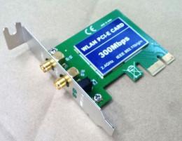2019 costruire la rete wireless PCI-E PCI PCIe scheda di rete wireless PC desktop scheda wireless integrata connessione wireless Tecnologia MIMO Interfaccia PCIE costruire la rete wireless economici