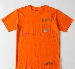 2019 vintage t shirt hip hop Heron T shirt Melhor Qualidade T-shirt Carta Bordado Verão Hip Hop Algodão T-shirt Top Tees T-shirt Do Vintage desconto vintage t shirt hip hop