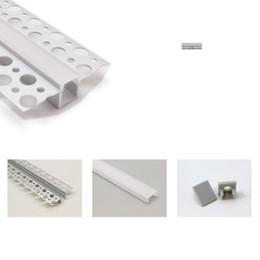 2019 fita 9mm O perfil do canal de T encaixou o perfil de alumínio conduzido, canal linear invisível da borda lisa da fita da tira do PWB de 9mm para a parede fita 9mm barato