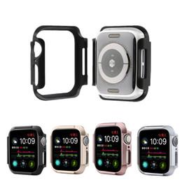 крышка смарт-часов Скидка Hard Armor PC smart watch Cover для apple watch 4 Защитный чехол для iwatch 40мм 44мм Защитная рамка для экрана