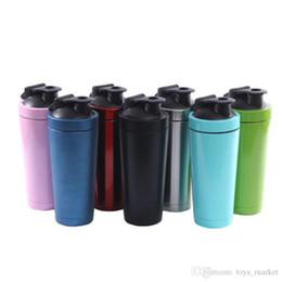 Personalizar tazas de café online-Tazas de acero inoxidable Botellas de agua Termo 740 ml Frasco de viaje Deporte Botella de agua Taza Taza personalizada Tetera Termo Taza de café