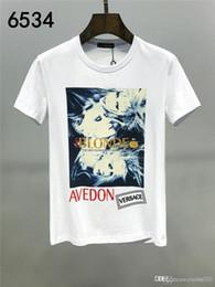 2020SS New Mens camisa Designer T de luxo de moda de Paris T-shirts Mulheres Verão padrão T-shirt masculino da qualidade superior 100% Algodão Top Tees de