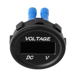 Adaptateur de panneau usb en Ligne-DC 12V 24V double prise USB LED Voltmètre numérique adaptateur allume-cigare Power Panel DXAC