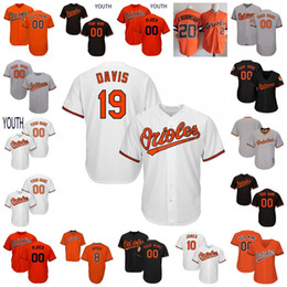 1f53bdd95 Orioles Chris Davis Jersey Baltimore Cal Ripken Jr.Murray Trumbo Cobb Ruiz  Jones Palmer Sisco Bundy Mancini Beckham Schoop Men Women Youth cheap  anthony ...