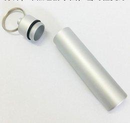 DHL portatile Holder esterna stuzzicadenti impermeabile Protable lega metallica stuzzicadenti Caso portachiavi scatola metallica Mini Camping semplice nt conveniente da panda box all'ingrosso fornitori