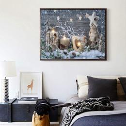 2019 diy diamante pintura natal 5d pintura diamante, noite de natal decoração de casa diy diamante strass colado pintura diy diamante pintura natal barato