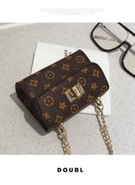 niedliche mädchen-goldketten Rabatt Neue Art und Weise koreanische nette Miniblumenmuster Kindertaschen Goldkette Mädchen Taschen Umhängetasche Schultertasche Kinder Handtaschen Großhandel B11