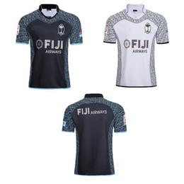 b6e052d623f AAA+2018 2019 new FIJI Home away white balck rugby Jerseys NRL National Rugby  League shirt nrl jersey 18 19 fiji shirts size S-3XL