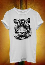 2019 леопардовый принт футболки оптом Leopard Tiger Cat Животных Печатных Мужчин Футболка 1055, Топы оптом Тройник на заказ Экологические Печатные Футболки дешево оптом скидка леопардовый принт футболки оптом
