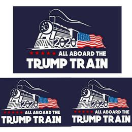 Fashion 2020 Trump Adesivo per auto Adesivi Donald Iocomotive Adesivo per finestra del treno Adesivi murali per la casa Soggiorno Decor da carta da parati della stanza delle ragazze all'ingrosso fornitori