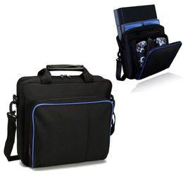 Para ps4 / ps4 pro jogo magno saco sytem tamanho original para o console playstation 4 proteger ombro bolsa de transporte bolsa de lona case de Fornecedores de frente de bicicleta de montanha