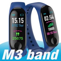 30 adet M3 Akıllı Bant Bilezik Kalp Hızı İzle Aktivite Spor Izci pulseira Relógios reloj inteligente XIAOMI apple izle nereden akıllı saat os tedarikçiler