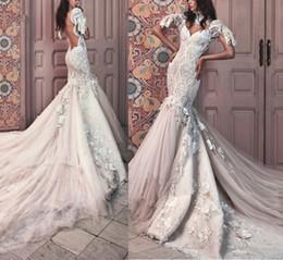 robe de mariée en dentelle à col haut Promotion Robes de mariée à col haut manches courtes en dentelle de mariée robes de mariée en tulle robe de mariée en dentelle 3D-Floral